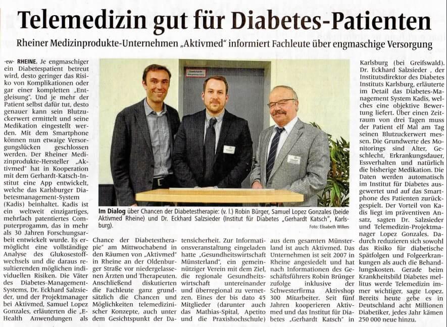 Diabetes Fachabend MV Artikel