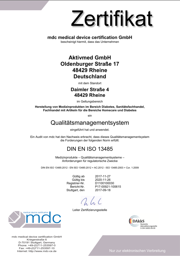 ISO 13485 Neu